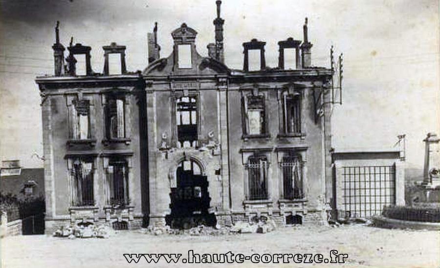 La Mairie en Aout 1944